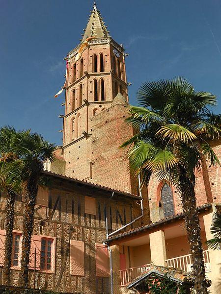 Photo du Monument Historique Eglise Saint-Jean-Baptiste situé à Lézat-sur-Lèze