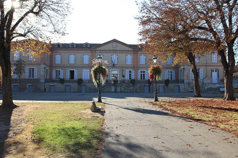 Photo du Monument Historique Mairie situé à Lézat-sur-Lèze