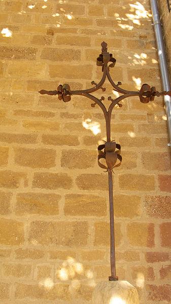 Photo du Monument Historique Croix en fer forgé situé à Manses