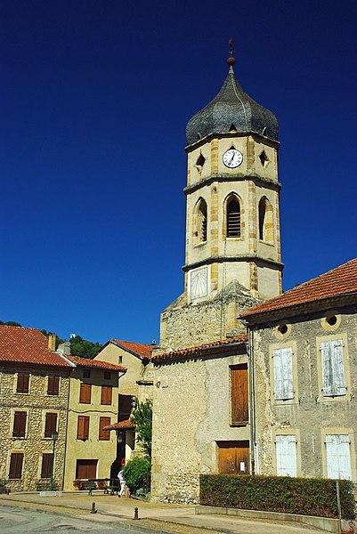 Photo du Monument Historique Eglise Saint-Etienne situé à Le Mas-d'Azil