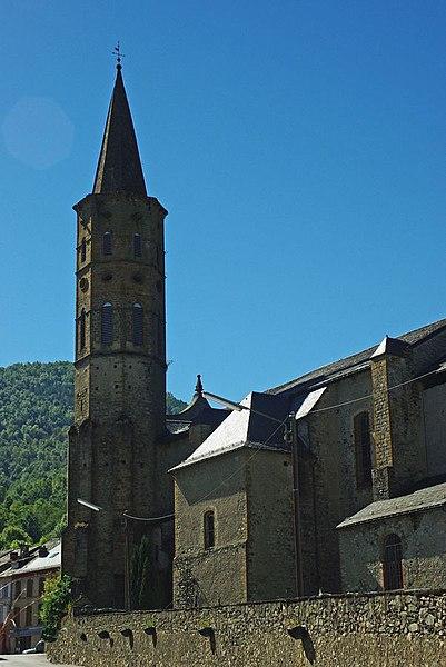 Photo du Monument Historique Eglise de la Nativité de la Vierge situé à Massat
