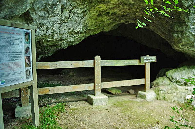 Photo du Monument Historique Grotte ornée paléolithique situé à Massat