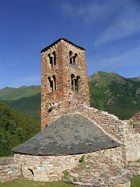 Photo du Monument Historique Restes de l'ancienne église de Merens-d'En-Haut situé à Mérens-les-Vals