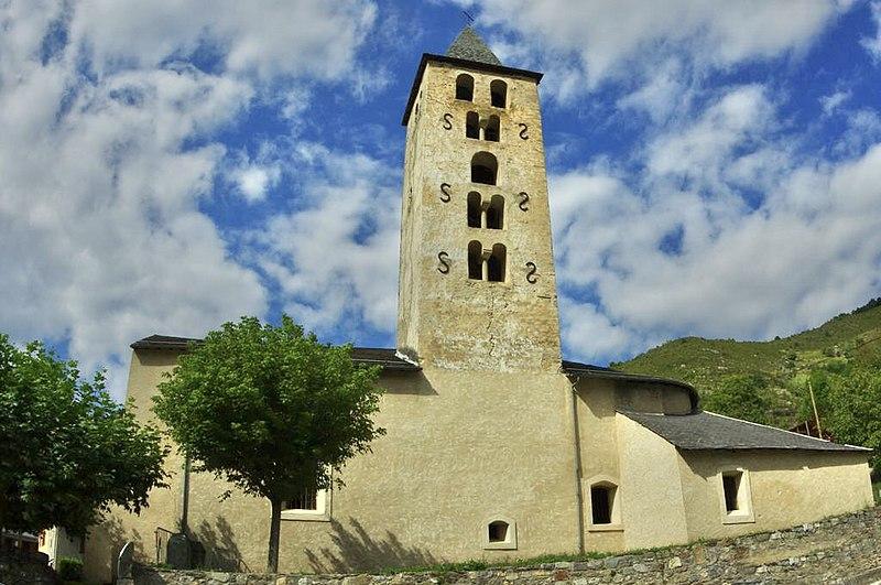 Photo du Monument Historique Eglise d'Arquizat situé à Miglos