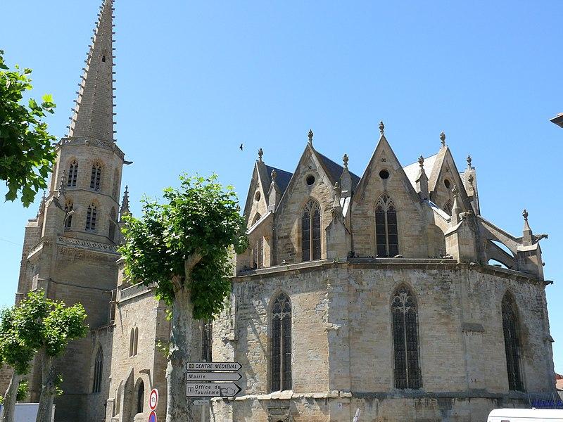 Photo du Monument Historique Ancienne cathédrale Saint-Maurice, actuellement église paroissiale situé à Mirepoix
