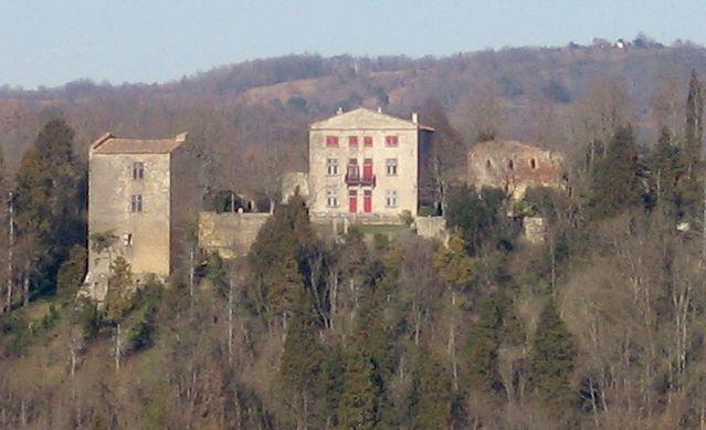 Photo du Monument Historique Ruines du château dit de Terride situé à Mirepoix