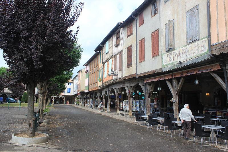 Photo du Monument Historique Maison Amouroux situé à Mirepoix