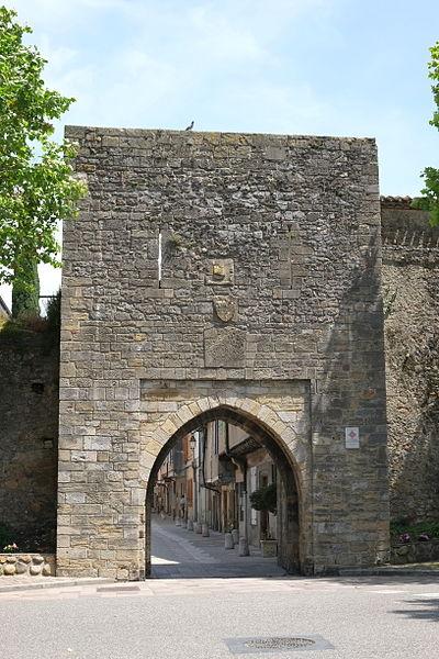 Photo du Monument Historique Porte d'Avail situé à Mirepoix