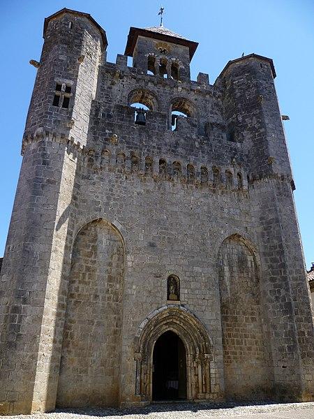 Photo du Monument Historique Eglise situé à Montjoie-en-Couserans