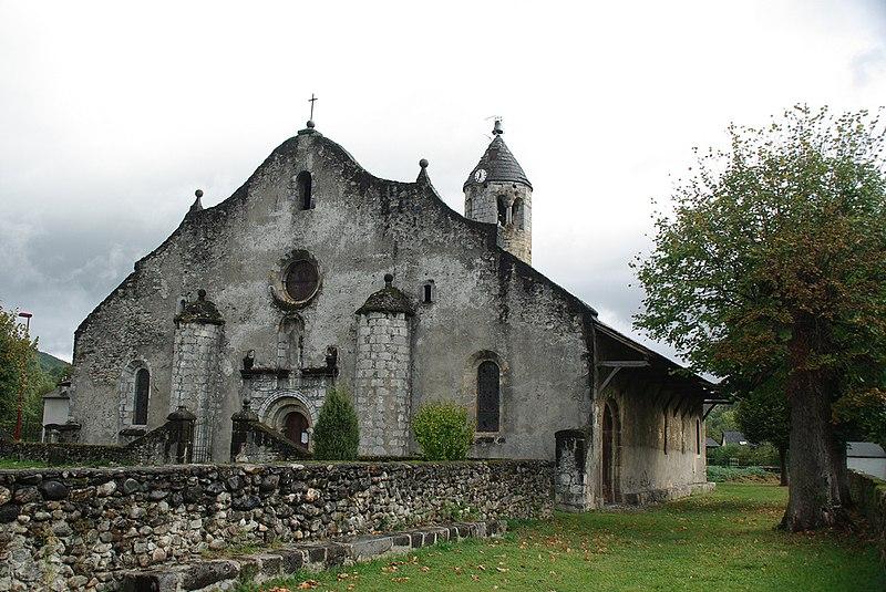 Photo du Monument Historique Eglise de Luzenac situé à Moulis