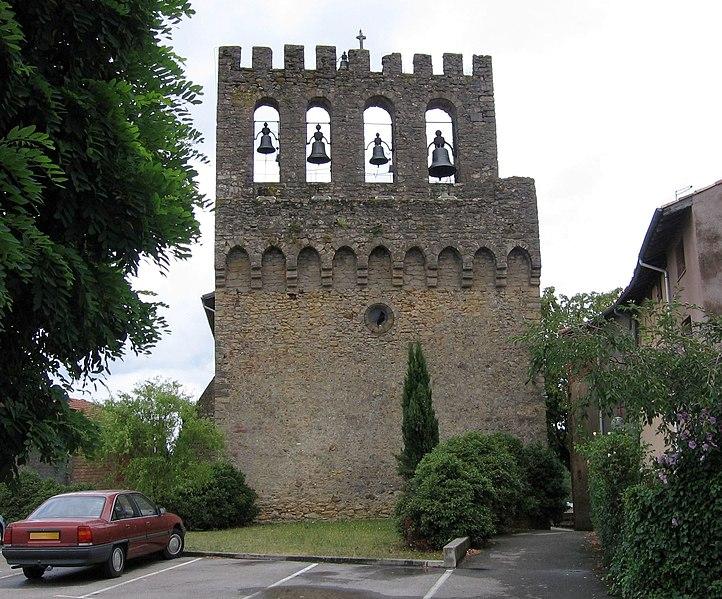 Photo du Monument Historique Eglise situé à Pujols (Les)