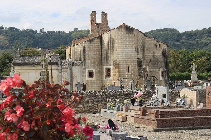 Photo du Monument Historique Chapelle du cimetière situé à Saint-Jean-du-Falga