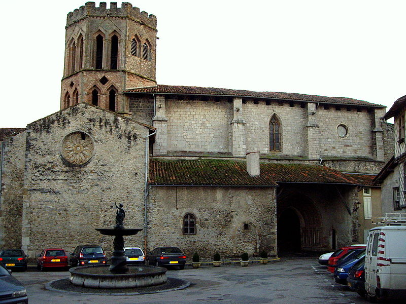 Photo du Monument Historique Ancienne cathédrale et cloître situé à Saint-Lizier
