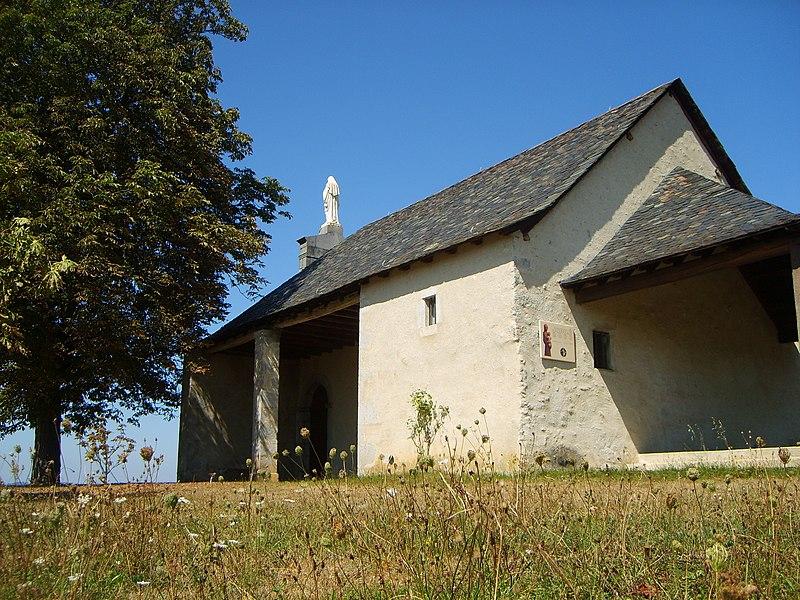 Photo du Monument Historique Chapelle de Marsan situé à Saint-Lizier