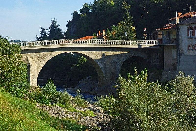 Photo du Monument Historique Pont situé à Saint-Lizier