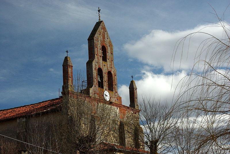 Photo du Monument Historique Eglise Sainte-Suzanne situé à Sainte-Suzanne