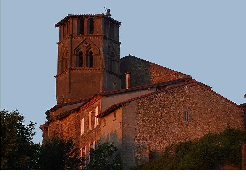 Photo du Monument Historique Eglise situé à Saint-Ybars