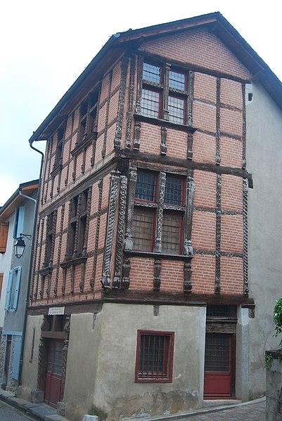 Photo du Monument Historique Ancien rendez-vous de chasse des Comtes de Foix situé à Siguer