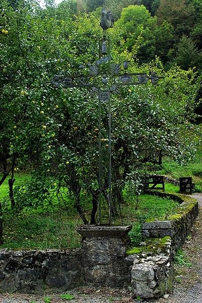 Photo du Monument Historique Croix situé à Ustou
