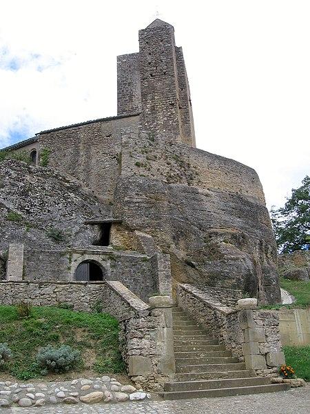 Photo du Monument Historique Eglise Notre-Dame et croix de pierre situé à Vals