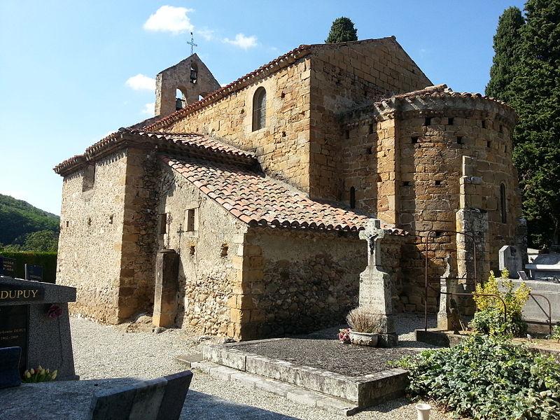Photo du Monument Historique Eglise situé à Vernajoul