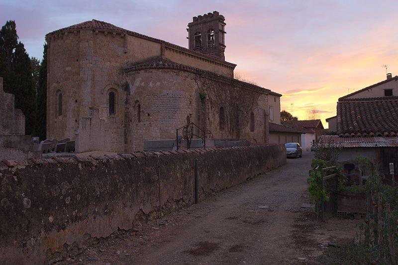 Photo du Monument Historique Eglise Saint-Martin situé à Villeneuve-du-Latou