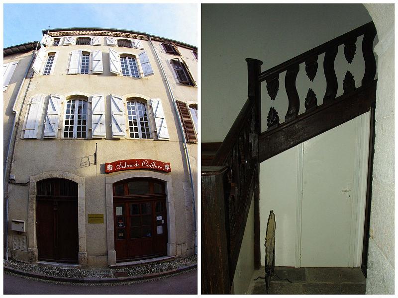 Photo du Monument Historique Ancienne maison canoniale du 18e siècle situé à Saint-Lizier