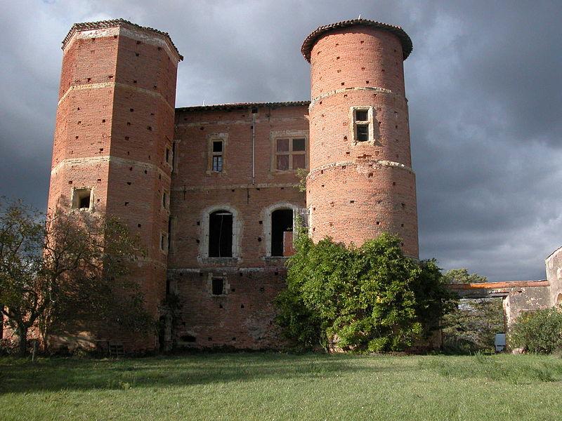 Photo du Monument Historique Château de Nogarède situé à Sieuras