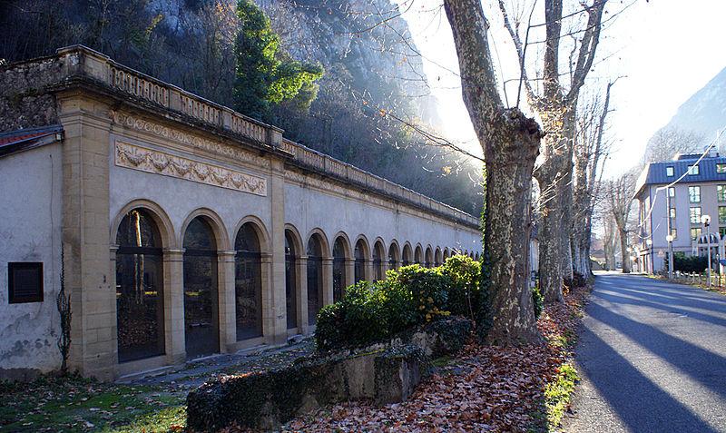 Photo du Monument Historique Thermes Fraxine situé à Ornolac-Ussat-les-Bains