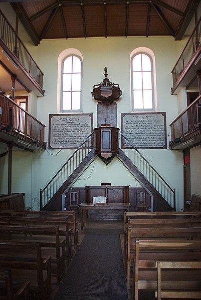 Photo du Monument Historique Temple protestant situé à Carla-Bayle