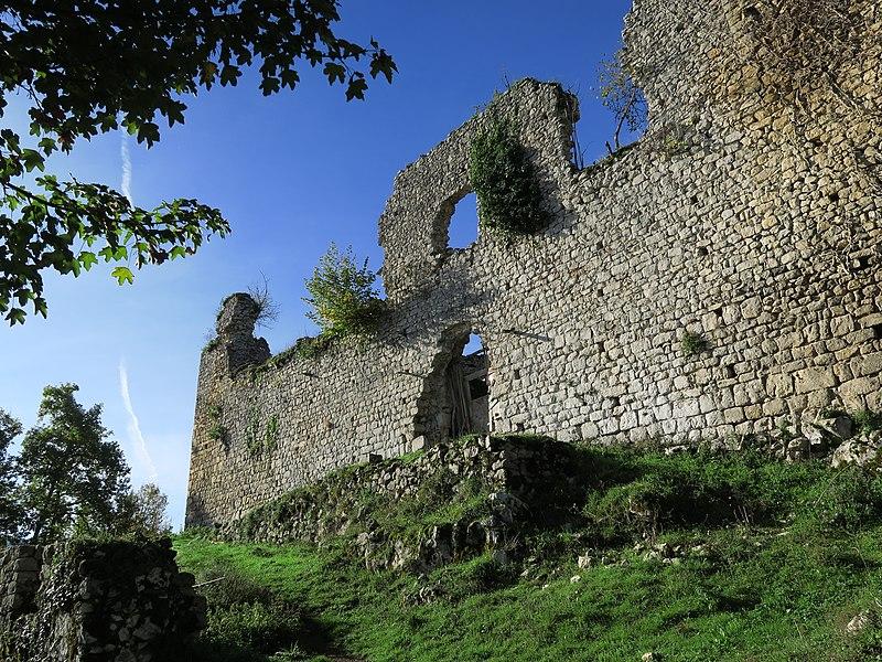 Photo du Monument Historique Château situé à Durban-sur-Arize