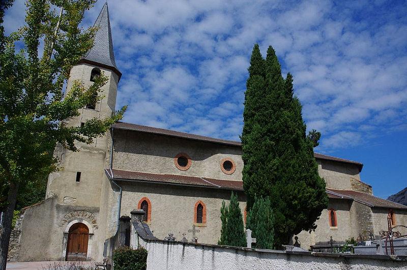 Photo du Monument Historique Eglise Notre-Dame-de-l'Assomption situé à Rabat-les-Trois-Seigneurs