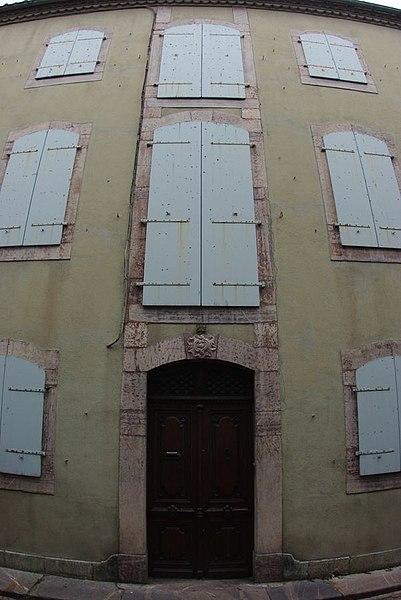 Photo du Monument Historique Maison Dufaur situé à Saint-Girons