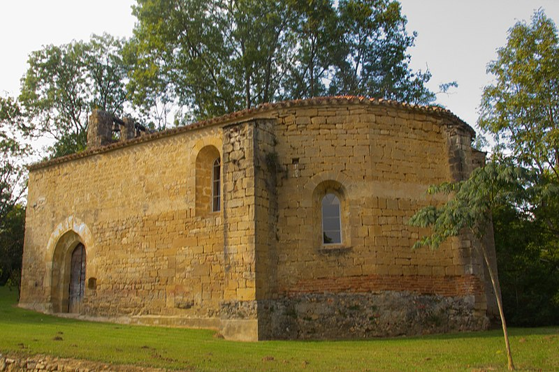 Photo du Monument Historique Eglise de Queille situé à Saint-Quentin-la-Tour