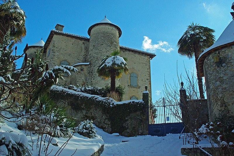 Photo du Monument Historique Maison-forte situé à Seix
