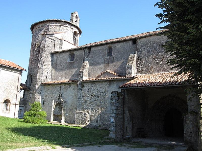 Photo du Monument Historique Cathédrale Notre-Dame de la Sède situé à Saint-Lizier