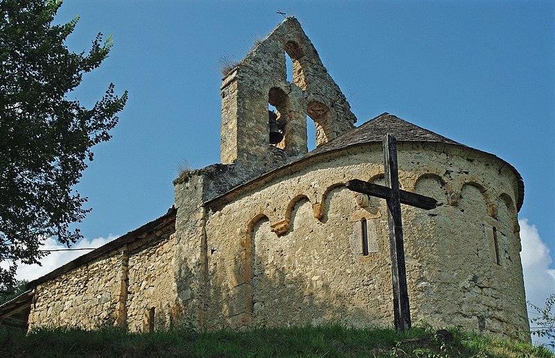 Photo du Monument Historique Chapelle d'Aulignac situé à Bordes-sur-Lez (Les)