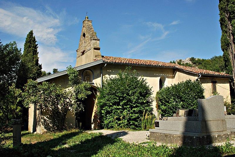 Photo du Monument Historique Eglise Saint-Vincent situé à Péreille