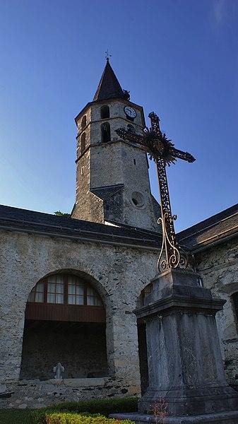 Photo du Monument Historique Eglise Saint-Pierre situé à Galey