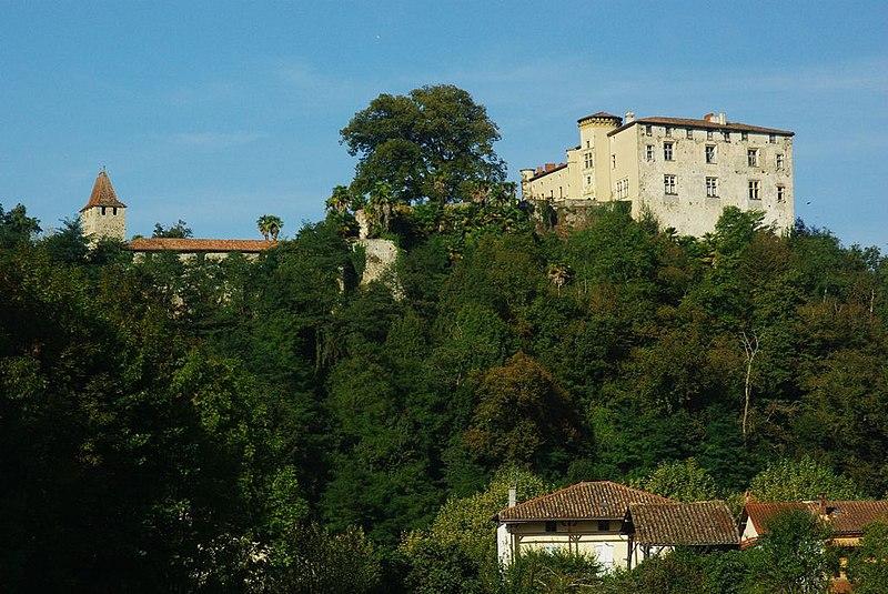 Photo du Monument Historique Château de Prat situé à Prat-Bonrepaux