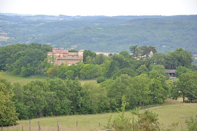 Photo du Monument Historique Château de Gargas situé à Viviès