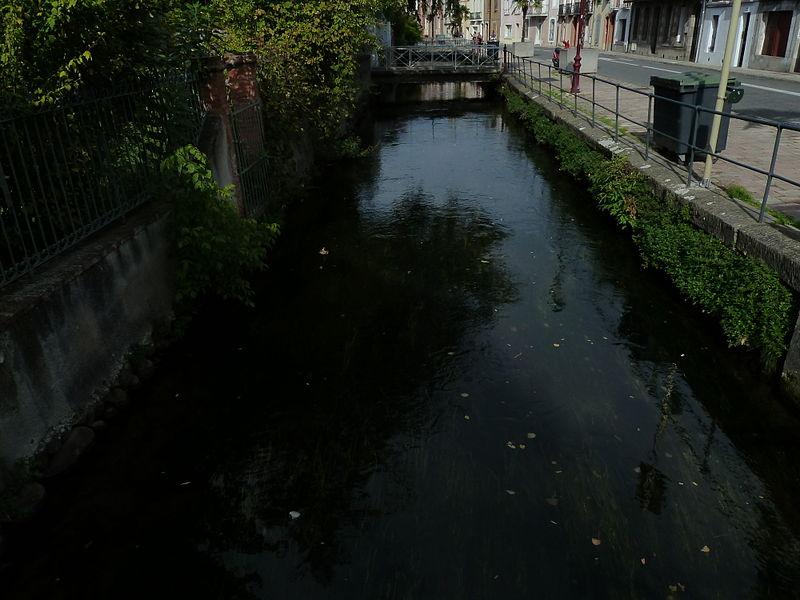 Photo du Monument Historique Canaux situé à Pamiers