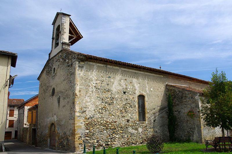 Photo du Monument Historique Chapelle Notre-Dame-de-Pitié, située au bourg situé à Seix