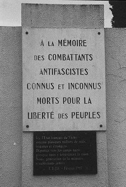 Photo du Monument Historique Camp de concentration et d'internement du Vernet situé à Saverdun ; Le Vernet