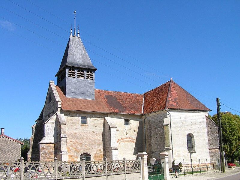 Photo du Monument Historique Eglise Saint-Etienne situé à Arrembécourt