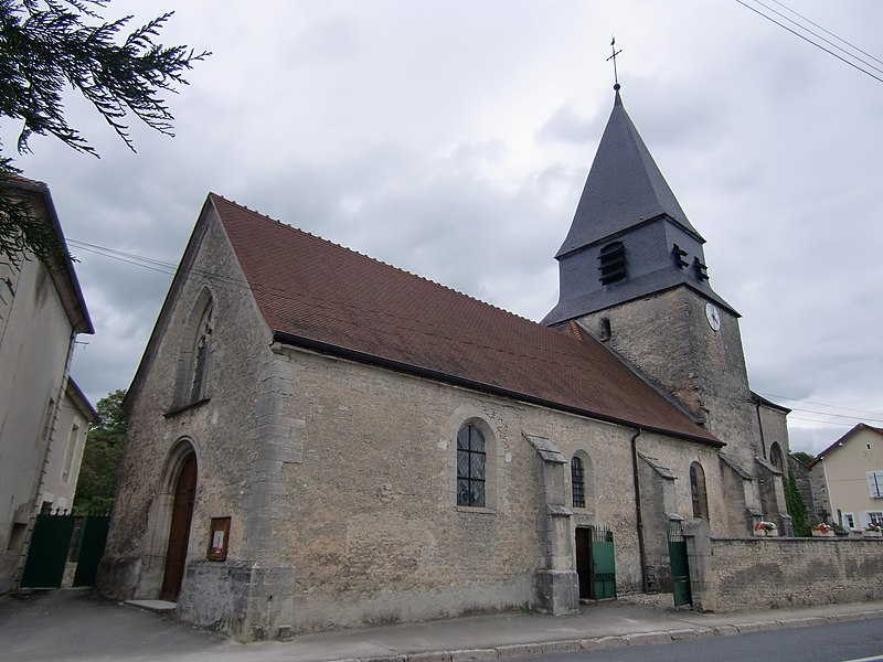 Photo du Monument Historique Eglise situé à Arsonval