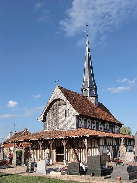 Photo du Monument Historique Eglise situé à Bailly-le-Franc