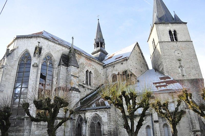 Photo du Monument Historique Eglise Saint-Maclou situé à Bar-sur-Aube