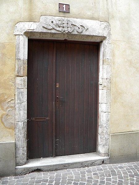 Photo du Monument Historique Immeuble situé à Bar-sur-Aube