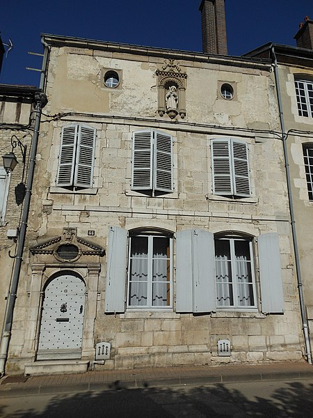 Photo du Monument Historique Maison situé à Bar-sur-Aube